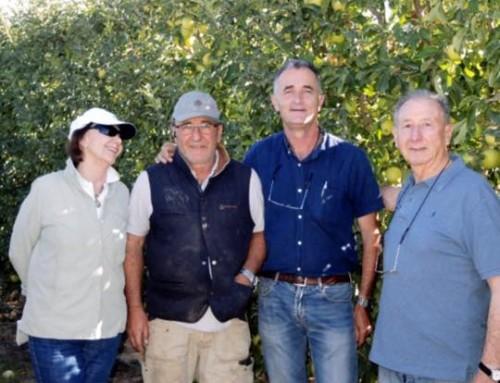 Visita Rosauer (Río Negro, Argentina)